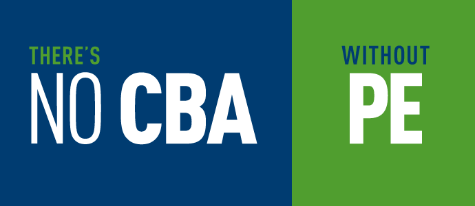 "<span class=""wb-inv"">There's no CBA without PE</span>"